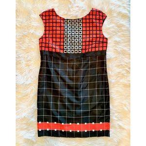 ANNE KLEIN Sleeveless Sheath Career Dress